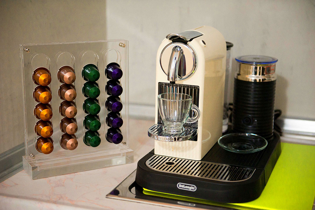 Espresso Machine With Different Flavor Capsules To Choose From Nespresso